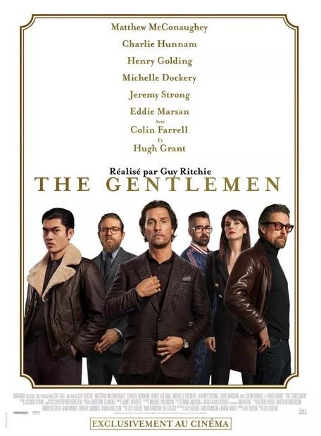 The gentlemen film affiche
