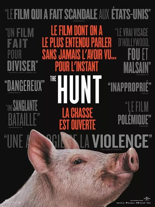 The Hunt 2020 film affiche