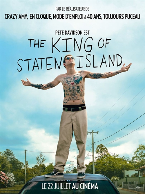 The king of Staten Island film affiche