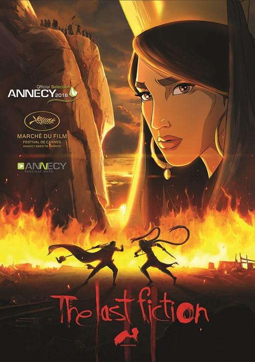 The last fiction film animation affiche