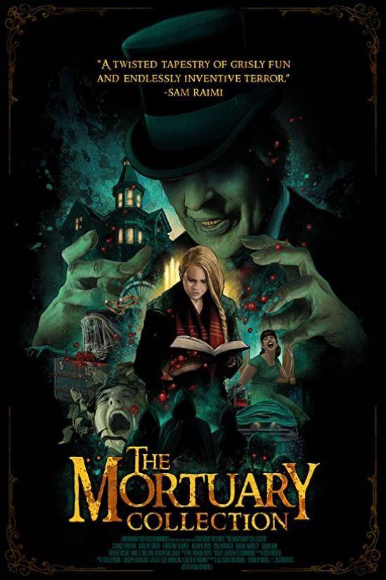 The Mortuary Collection film affiche réalisé par Ryan Spindell