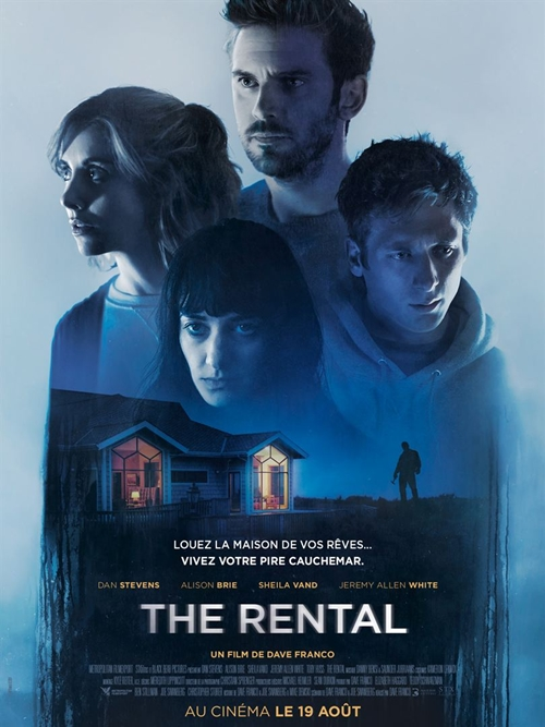 The Rental film affiche