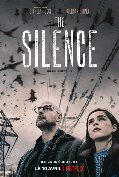 The silence film netflix affiche