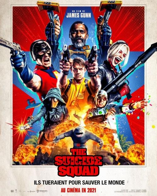 The Suicide Squad film affiche réalisé par James Gunn