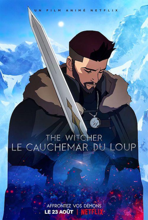 The Witcher : Le Cauchemar du Loup film d'animation affiche réalisé par Han Kwang-il