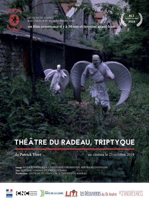 Théâtre du Radeau, triptyque film documentaire affiche