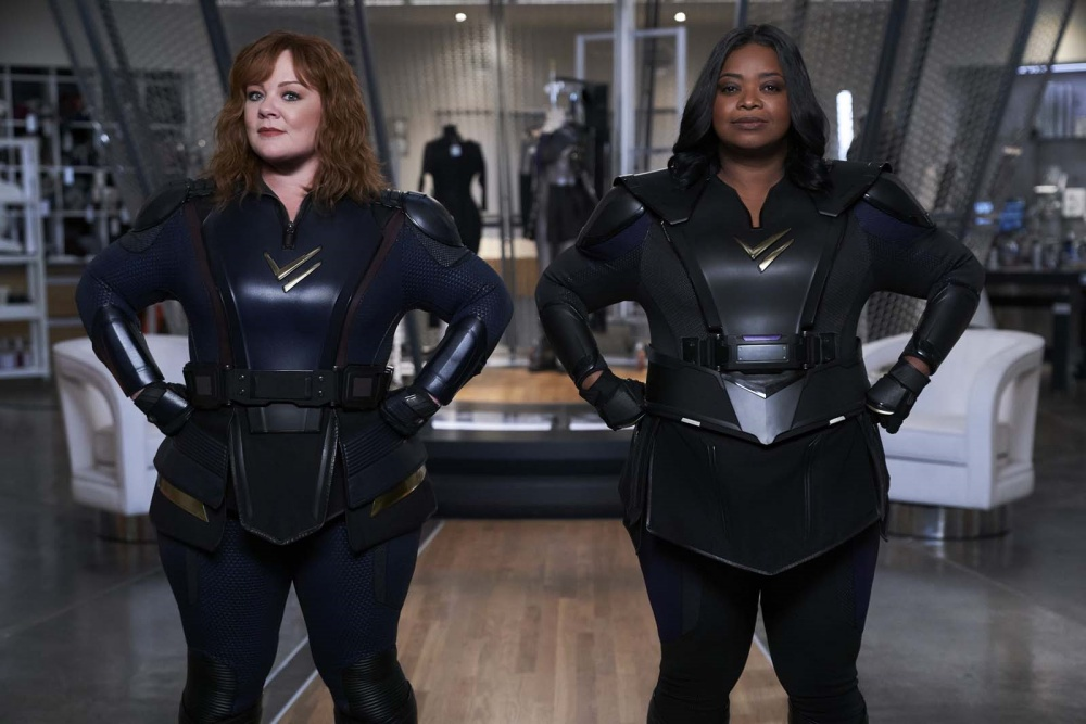 Thunder Force film movie actrices Melissa McCarthy, Octavia Spencer