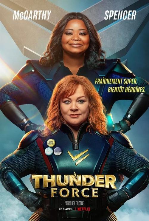 Thunder Force film affiche réalisé par Ben Falcone