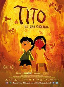 Tito et les oiseaux film d'animation affiche