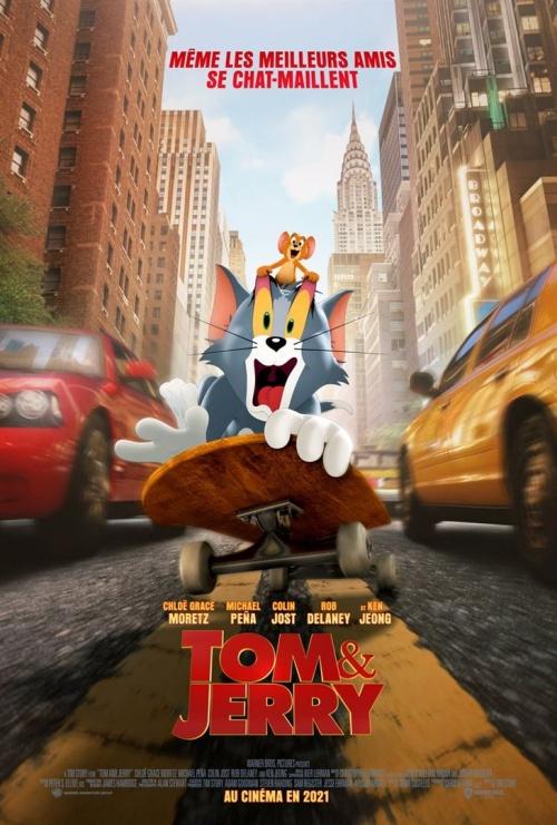 Tom et Jerry film animation affiche réalisé par Tim Story