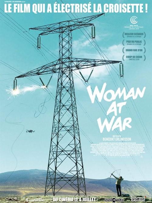 Top Flop 2018 David Brejon Woman at war affiche