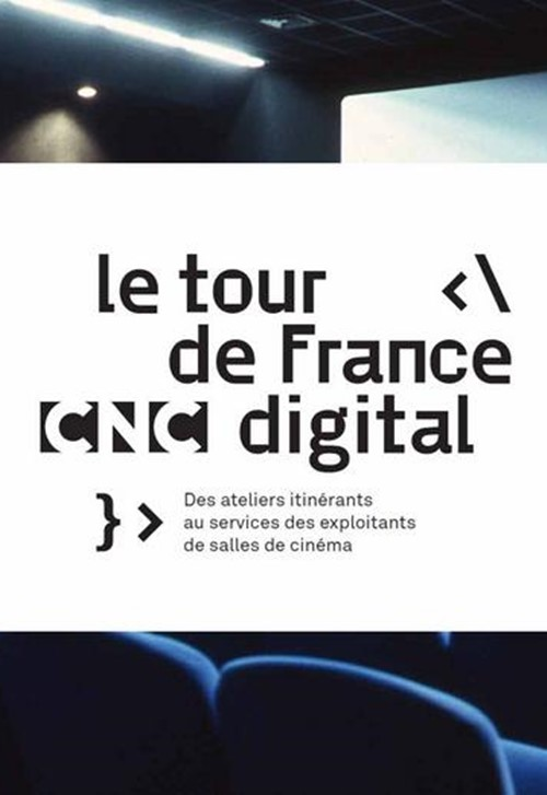 Tour de France du Digital CNC affiche