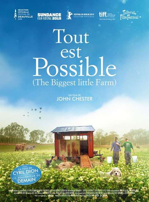 Tout est possible film documentaire affiche
