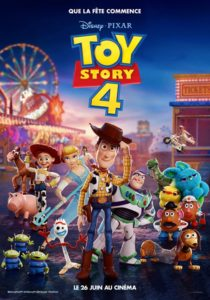Toy Story 4 film animation affiche