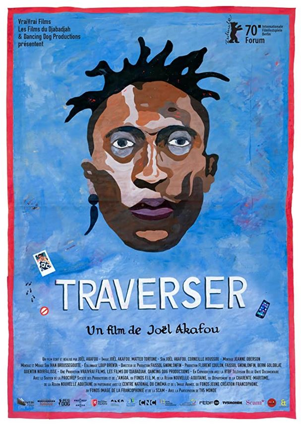 Traverser film documentaire affiche réalisé par Joël Akafou