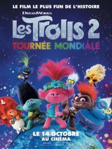 Les Trolls 2 Tournée mondiale film animation affiche