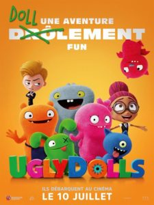 Ugly Dolls film animation affiche