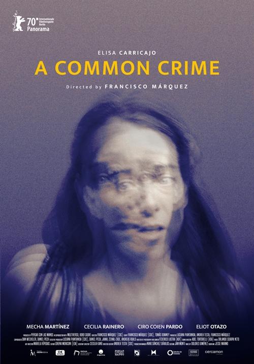 Un crimen comun film affiche