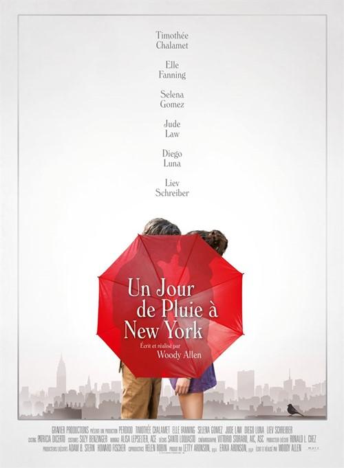 Un jour de pluie à New York film affiche