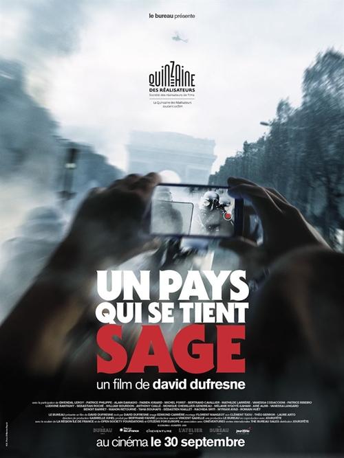 Un pays qui se tient sage film documentaire affiche