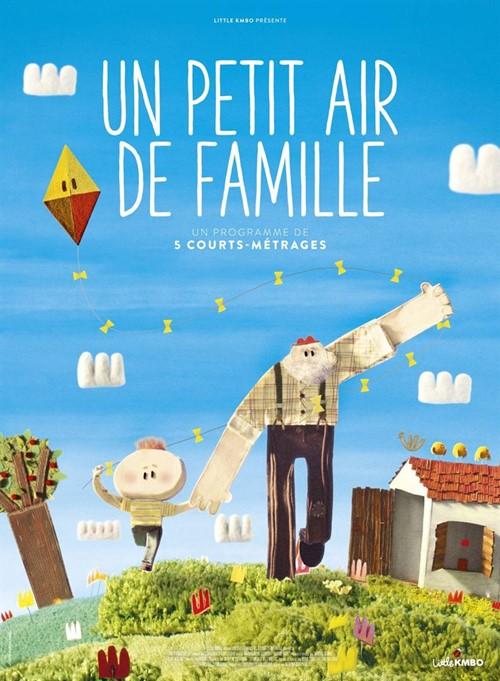 Un petit air de famille film animation affiche