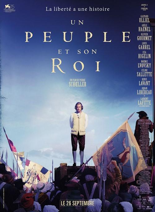 Un peuple et son roi film affiche