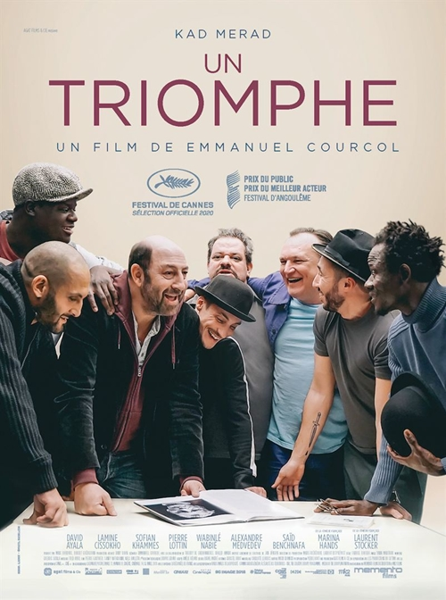 Un triomphe film affiche réalisé par Emmanuel Courcol
