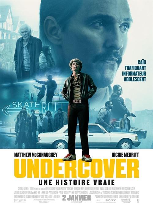 Undercover une histoire vraie film affiche
