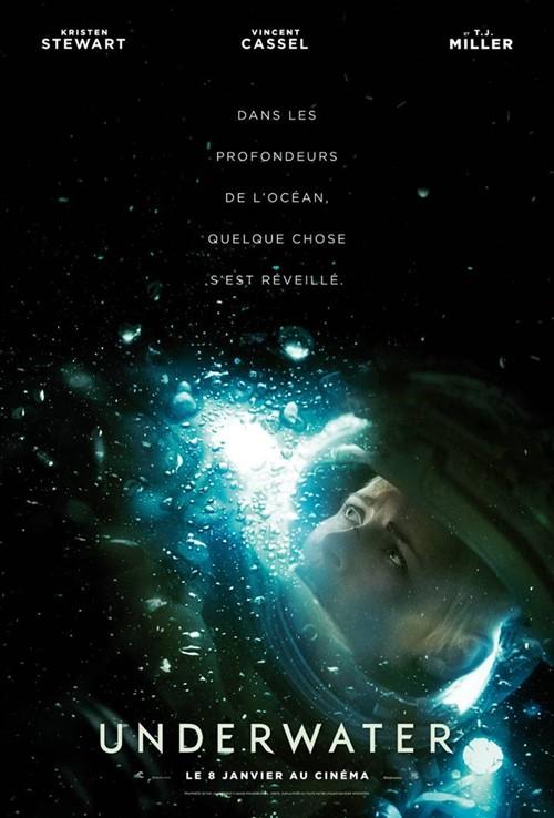 Underwater film affiche
