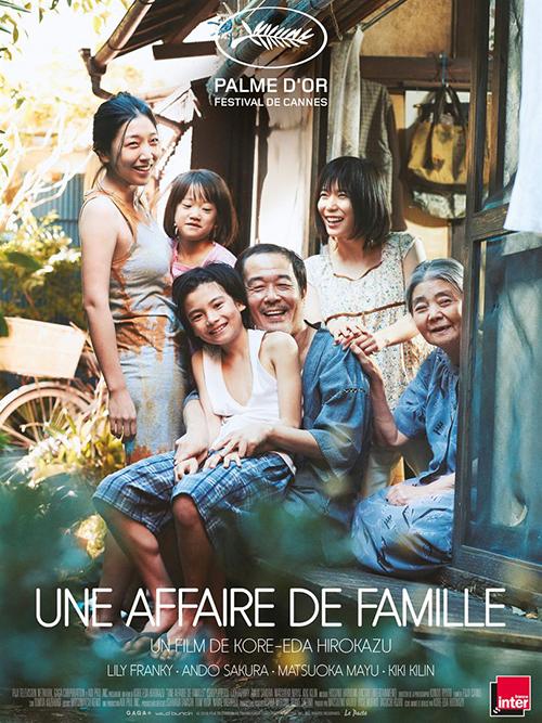 Une affaire de famille film affiche