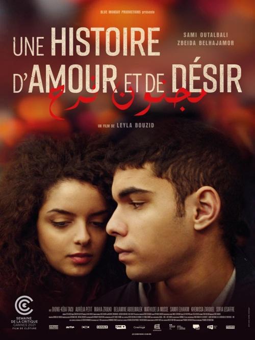 Une histoire d'amour et de désir film affiche réalisé par Leyla Bouzid