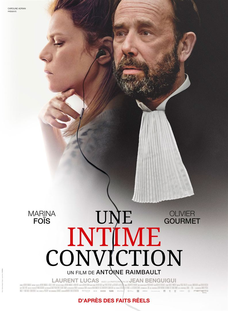 Une intime conviction film affiche