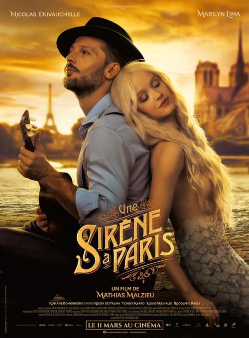 Une sirène à Paris film affiche