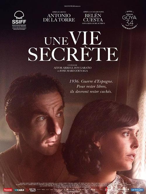 Une vie secrète film affiche