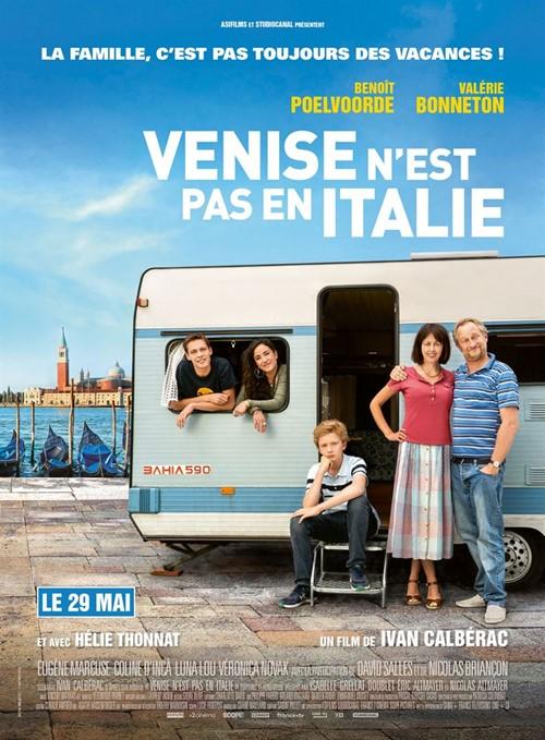 Venise n'est pas en Italie film affiche