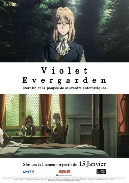 Violet Evergarden film animation affiche