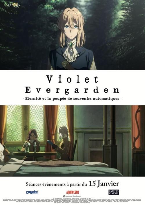 Violet Evergarden film animation affiche