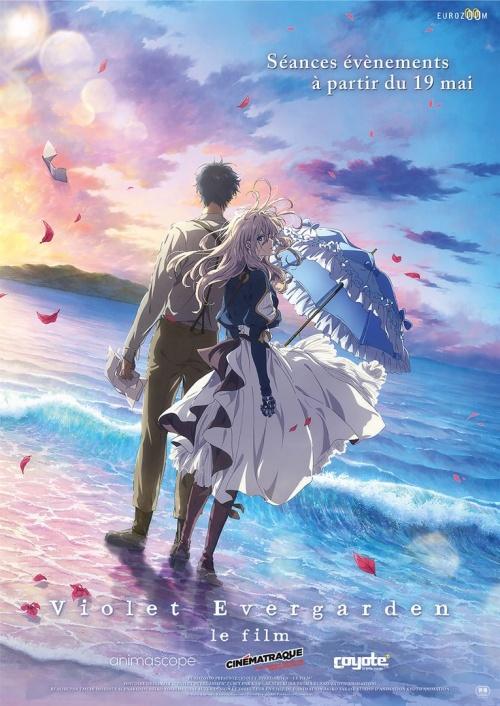Violet Evergarden le film animation affiche réalisé par Taichi Ishidate