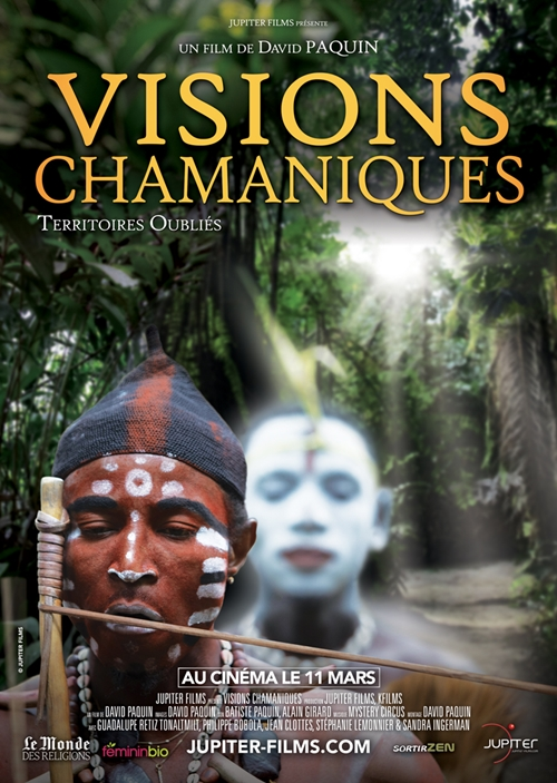 Visions chamaniques film documentaire affiche