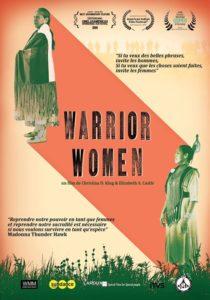 Warrior women film documentaire affiche