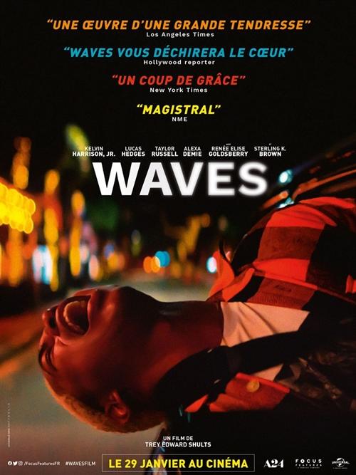 Waves film affiche