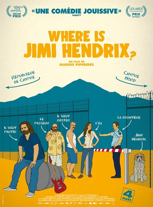 Where is Jimi Hendrix film affiche