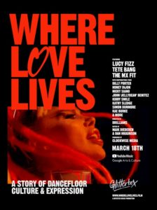 Where Love Lives - Glitterbox film documentaire affiche réalisé par Brilliams
