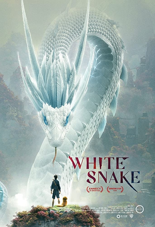 White Snake film animation affiche