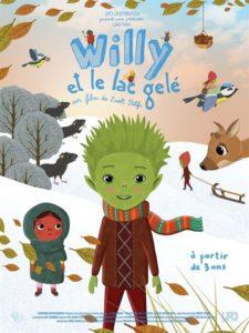 Willy et le lac gelé film affiche