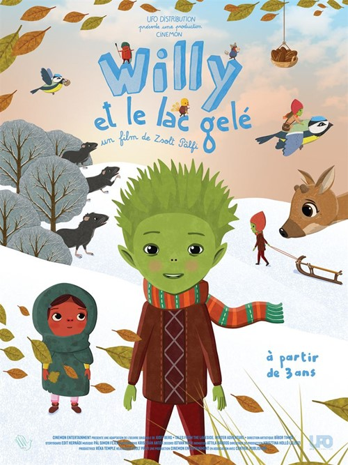 Willy et le lac gelé film affiche