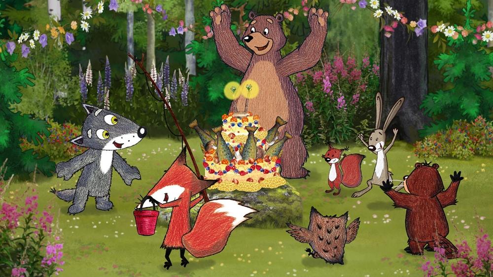 Wolfy et les loups en délire film animation