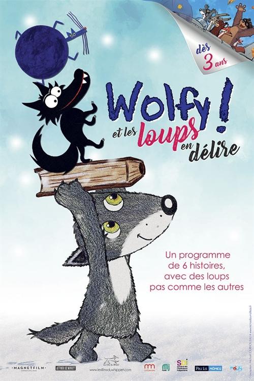 Wolfy et les loups en délire film animation affiche