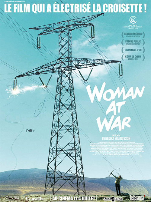 Woman at war film affiche