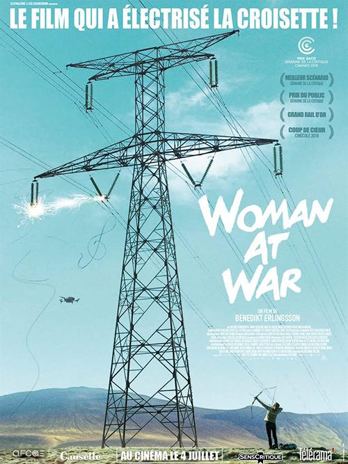 Woman at war film affiche